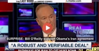 Bill O'Reilly comes out in strong support of President Obama Iran agreement