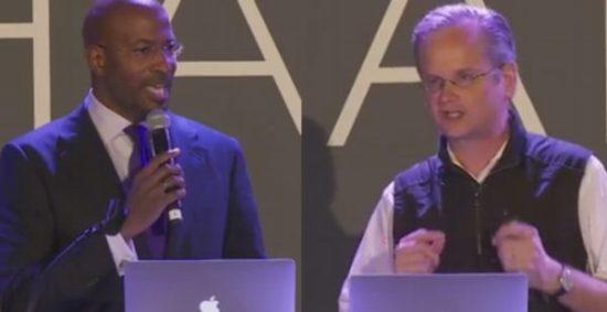 Lawrence Lessig & Van Jones on a rigged system Elizabeth Warren  3