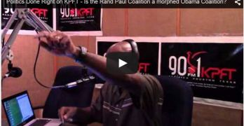 Politics Done Right on KPFT – April 9th, 2015