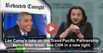 Lee Camp TPP Trans Pacific Partnership