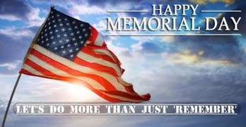 Memorial Day Let's do more than remember