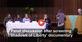 'Shadows of Liberty' panel discussion on corporate media corruption (VIDEO)