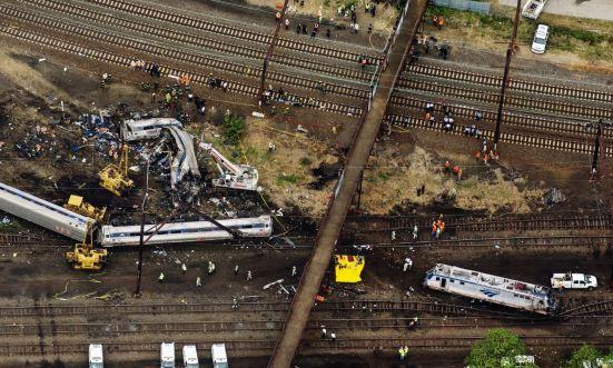 Train Derailment in Philadelphia Infrastructure Spending