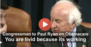 Congressman tongue lashed Paul Ryan for another silly Obamacare hearing