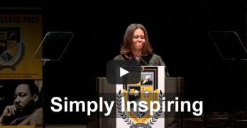 First Lady Michelle Obama commencement speech at King College Prep