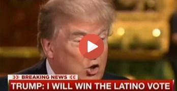 Donald Trump says he will win the Latino vote