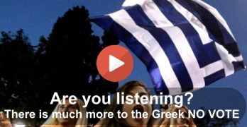 Struggling Americans must emulate the signal sent by the Greeks (VIDEO)