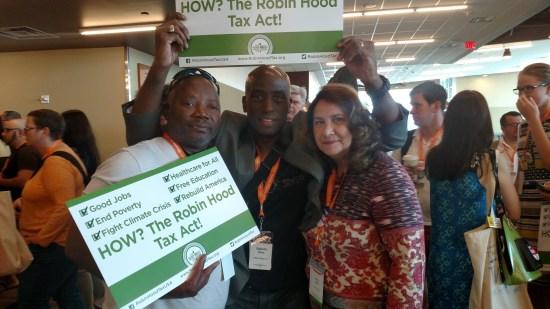 Robin Hood. Ready for Elizabeth Warren at Netroots Nation 2015