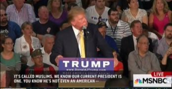 Donald Trump leading and encouraging prejudice created fans like this (VIDEO)