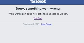 Facebook Down - Facebook Outage