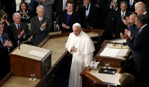 Transcript to Pope Francis's Speech to Congress (VIDEO)