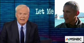 Chris Matthews, President Obama, the anti-Lame Duck President