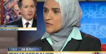 Muslim scholar calmly corrects Rich Lowry's false narrative on Meet The Press