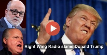 Right Wing radio slams Donald Trump for attacking Ted Cruz (VIDEO)
