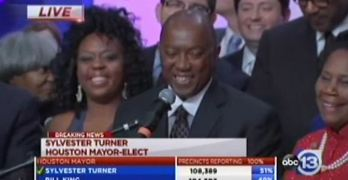 Sylvester Turner beats Bill King in Houston mayoral race (VIDEO)