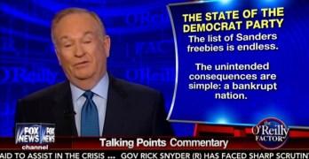 Bernie Sanders Bill O'Reilly