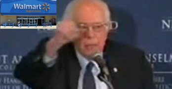 Bernie Sanders slams Walmart as a welfare recipient (VIDEO)