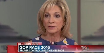 Andrea Mitchell on Donald Trump