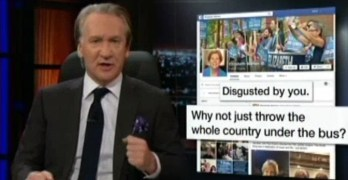 Bill Maher's message to Liberals