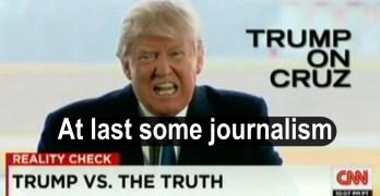 CNN takes down Donald Trump