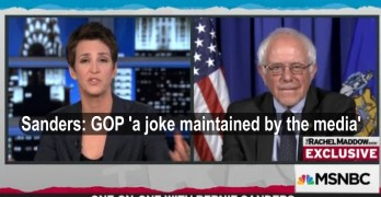Bernie Sanders got real on Rachel Maddow as he slammed the Republican Party and its enablers (VIDEO)