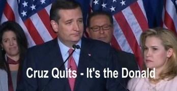 Ted Cruz quits race 2