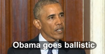 President Obama loses it over radical Islam