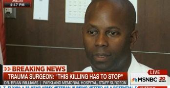 Black surgeon who cares for Dallas police says he fears them (VIDEO)