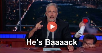 Jon Stewart to Republicans: 'This country isn't yours. You don't own it' (VIDEO)