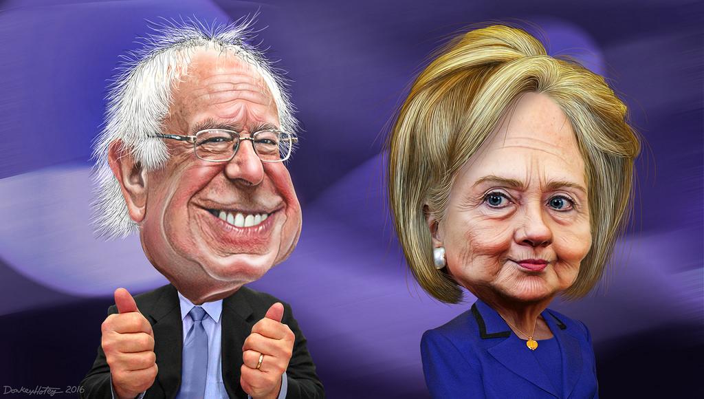 Hillary Clinton, Bernie Sanders, Delegate