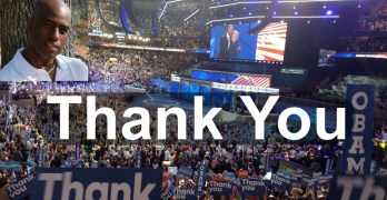 THANK YOU for the support you gave me & progressive activism