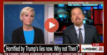 Chuck Todd on Trump: 'You can't debunk the lies as fast as he is telling them' (VIDEO)