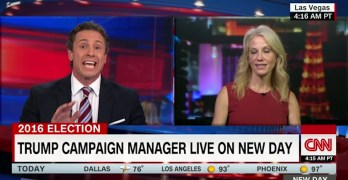 CNN's Cuomo slams Conway for Trump's refusal to accept election outcome (VIDEO)