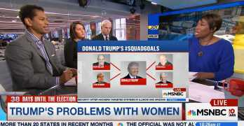 AM Joy exposes Trump's misogynist team's failing attack on Clinton (VIDEO)