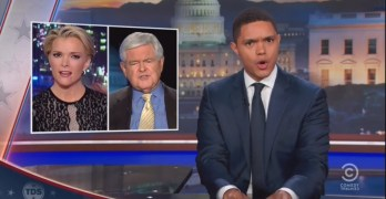 Trevor Noah slams Newt Gingrich's hypocritical attack on Megyn Kelly (VIDEO)