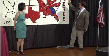 Clinton Wins Nationwide High School Mock Election (VIDEO)