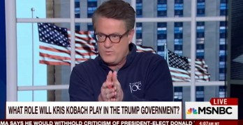 Morning Joe: Trump at precipice if pick 'henchmen who've taken money from terror groups' (VIDEO)