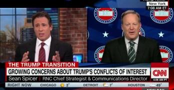 CNN host destroys Trump spokesman's attempt to lie about a Trump landslide (VIDEO)