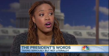 Heather McGhee on Trump: 'relationship with the truth unbefitting of our country' (VIDEO)