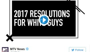 MTV's 2017 Resolutions For White Guys examined in full context