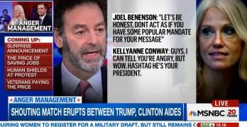 Shouting match between Clinton & Trump surrogates at Harvard forum (VIDEO)