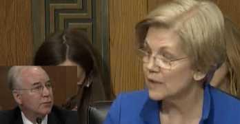 Senator Elizabeth Warren grills HHS nominee on unethical stock purchases (VIDEO)