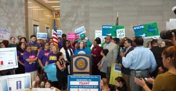Houston Obamacare Rally