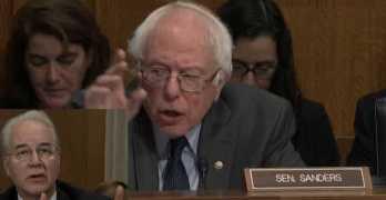 Sen. Bernie Sanders grills HHS appointee as he evaded drug price controls (VIDEO)