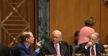 Verbal fight breaks out between Senators in hearings