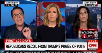 A Liberal panelist & a CNN host show how to neuter a lying Right Wing operative on air (VIDEO)