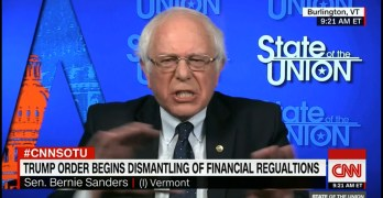 Bernie Sander explains point for point why Donald Trump is a fraud (VIDEO)