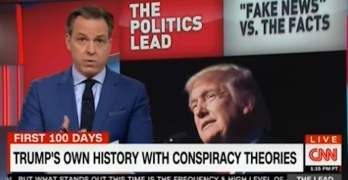 CNN Jake Tapper decimates Trump on facts, fake news, and conspiracy stories (VIDEO)