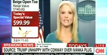 Kellyanne Conway seems to believe that if she continues her lies and cons, eventually the news will let her slide by. So far, CNN is not buying it.