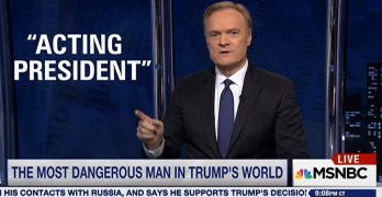 Mike Pence Lawrence O'Donnell - Mike Pence is the man Trump should fear